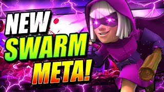 THE ULTIMATE SWARM BAIT DECK DESTROYS LADDER!! EASY WINS!