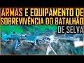 Armas e Equipamento de Sobrevivência do Batalhão de Infantaria de Selva (1o BIS)