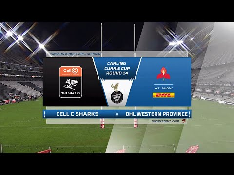 Currie Cup   Round 14   Cell C Sharks v Western Province Jonsson   Highlights