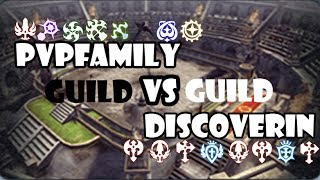 DN INA (93 lvl cap) PVP Wipeout (Kill or Fall) GVG: PvPFamiLy Vs DiscoveriN (27/5/2017)
