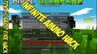 Pixel Warfare\V2 Hack - Infinite Ammo and Rapid Fire