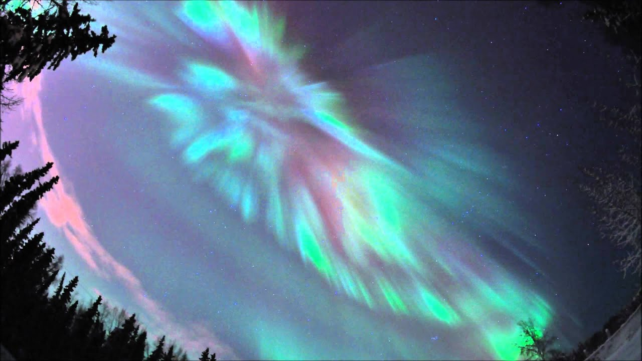 Healy Alaska Northern Lights