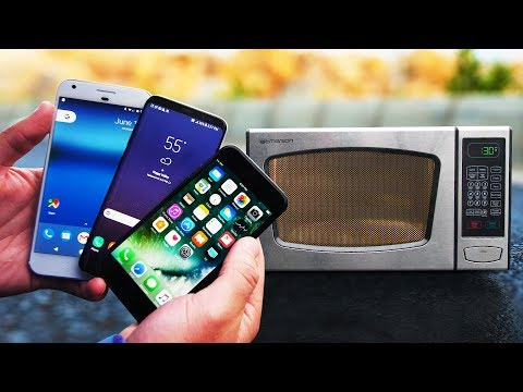 hqdefault Microwave Survival Check! Galaxy S8 vs iPhone 7 vs Pixel XL! Technology