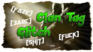 Call of Duty: Black Ops 2 Clan Tag Glitch [GERMAN TUTORIAL] [PS3/XBOX360]