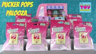 Pucker Pops Palooza Lip Gloss Limited Edition Claires Blind Bags Opening | PSToyReviews
