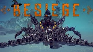 Besiege Best Creations - Spooky Edition! - Walking Octopus, The Wall & More!