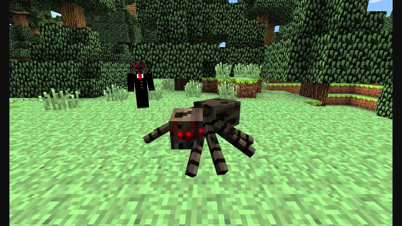 Spiders (A Minecraft parody of Badgers)