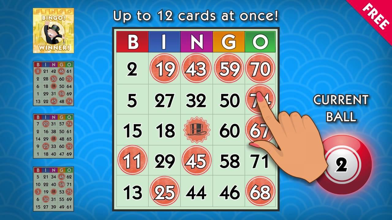 download monopoly bingo on