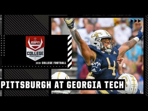 Pittsburgh Panthers DEMOLISH the Georgia Tech Yellow Jackets | Full Game Highlights