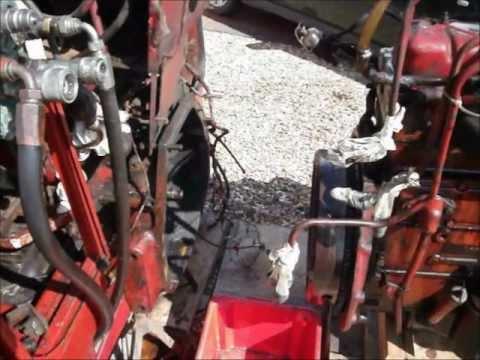 1066 International Tractor Wiring Diagram International 574 Clutch Youtube