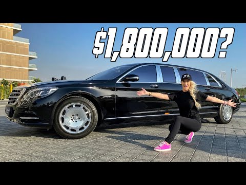 The Most Luxurious Car Ever Made | Mercedes Maybach Pullman