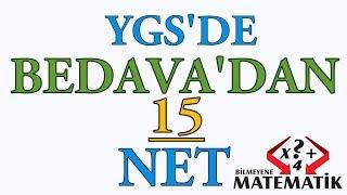 YKS - TYT - YGS de Bedavadan 15 Matematik Neti