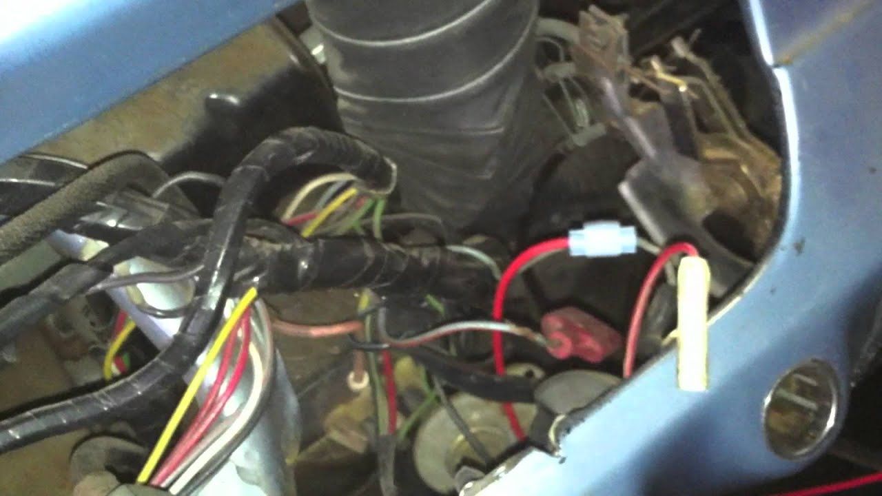 American Autowire Diagrams 1966 Mustang Restoration Underdash Wiring Harness Youtube