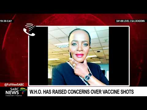 WHO's concerns over vaccine hogging: Sophie Mokoena
