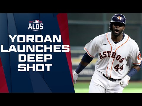 TO THE MOON!!! Yordan Álvarez launches homer to add to Astros' Game 1 lead