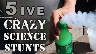 5 Crazy Science Stunts You Can't Try At School