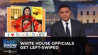 White House Officials Get Left-Swiped | The Daily Show