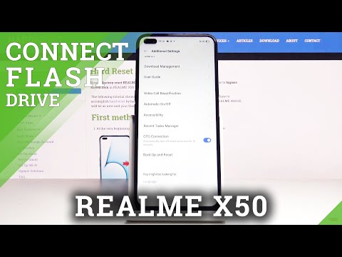 How to Enable OTG Connection in REALME X50 5G – Enter Developer Options