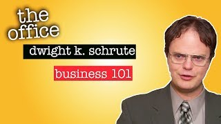 Watch Dwight K. Schrute: Business 101 - The Office US Video