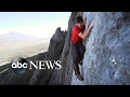 Free climbing Yosemite's El Capitan without ropes or safety gear | 1st solo climb to top