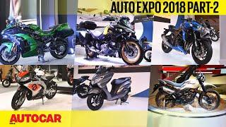 Auto Expo 2018   Wrap-up report - Part 2 - Bikes   Autocar India