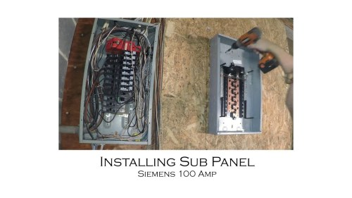 small resolution of old fuse box murray 100 amp wiring