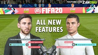 FIFA 20 - ALL NEW FEATURES & CHANGES THAT YOU NEED TO KNOW!