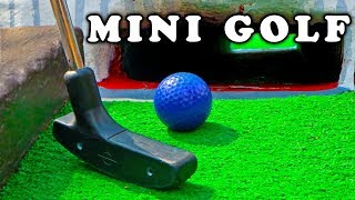 Mini Golf - Let's Play FOR REAL! Animal Course​​​ | ​​​