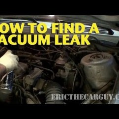 2001 Ford Focus Engine Diagram Jvc Kd R610 Wiring How To Find A Vacuum Leak - Ericthecarguy Youtube