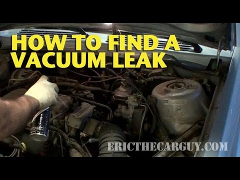 2002 ford windstar engine diagram lighting wiring junction box how to find a vacuum leak - ericthecarguy youtube
