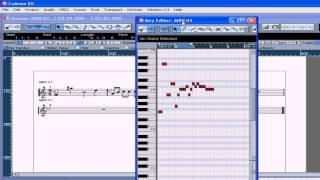 Cubase SX 3 Tutorial - Lesson 31: Score Editor Part I