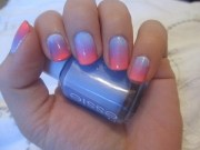 nail tutorial quick & easy ombre