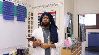 Starrkeisha The Substitute Teacher! 😂💀🔥 @TheKingOfWeird