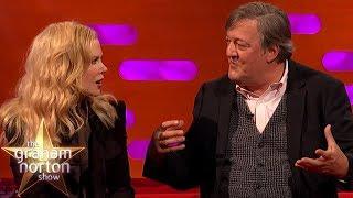 Nicole Kidman Is Blown Away By Stephen Fry's Intelligence   The Graham Norton Show