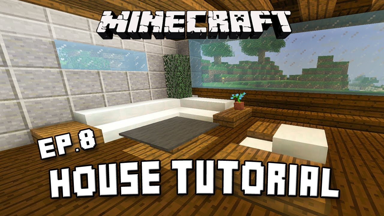 how to make living room furniture in minecraft corner unit for modern ...