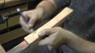 Making katana koshirae, component tsuka 2/12