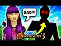 😈MAL FINDS HER FATHER?!🔥 Descendants 3 Sims 4: MAL'S JUNGLE ADVENTURE #1!🌴