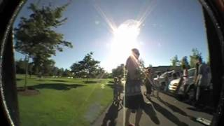 SKATERS SAVE TWO BABIES FROM LOCKED CAR