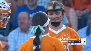 NCAA Softball 2019 | #4 Florida vs #7 Tennessee Mar 8