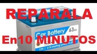 Cómo Reparar la Bateria de Un Carro en 10 Minutos si se Descargo