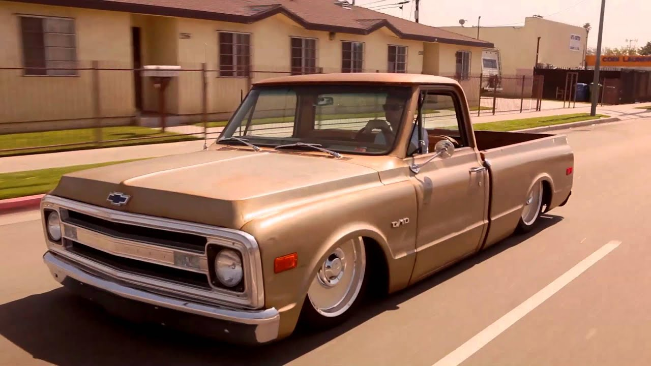 Truck 10 Chevy Custom Parts 1969