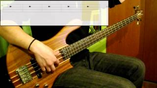 Michael Jackson - Get On The Floor (Bass Cover) (Play Along Tabs In )