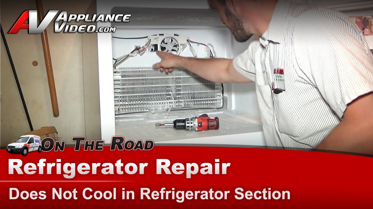 Dometic Single Zone Thermostat Wiring Diagram Amana Refrigerator Youtube Amana Refrigerator Repair