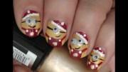 minions nail art - christmas nails