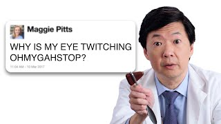 Watch Ken Jeong Answers Medical Questions From Twitter | WIRED Video