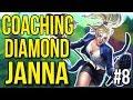 Coaching a Diamond Janna - League of Legends