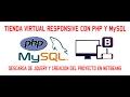 TIENDA VIRTUAL RESPONSIVE CON PHP & MYSQL - 02