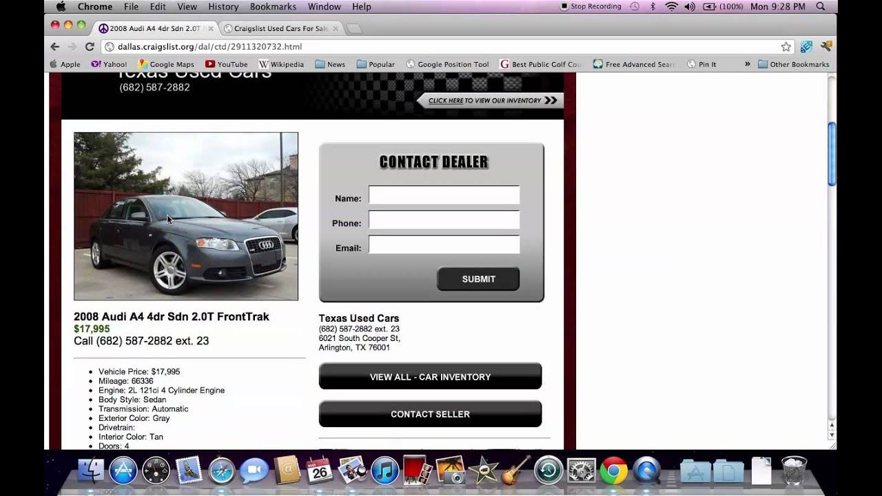 Craigslist Cars Fort Wayne