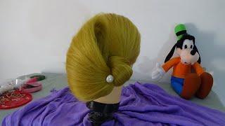 Tulip Hairstyle / Penteado Tulipa