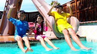Swimming Song   Emma Pretend Play Nursery Rhymes & Kids Songs